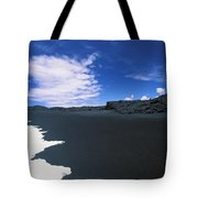 Kalapana Black Sand Tote Bag