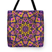 Kaleidoscope 1004 Tote Bag