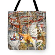 Kaleidoscope Carousel Tote Bag