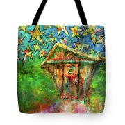 Kaleidoscope Skies Tote Bag