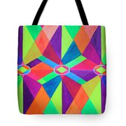 Kaleidoscope Wise Tote Bag by Ann Sokolovich