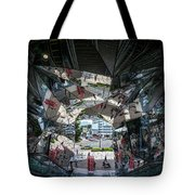 Kaleidoscopic Tokyo Tote Bag