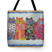 Kalico Kitties Tote Bag
