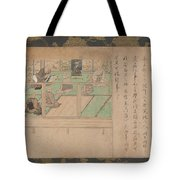 Kamakura Period    Illustrated Biography Of Hnen Shikotokden E Tote Bag