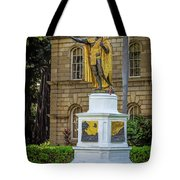 Kamehameha The Great Tote Bag by Jon Burch Photography