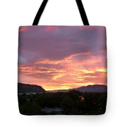 Kamloops Sunset 2 Tote Bag