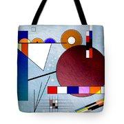 Kandinsky II Tote Bag