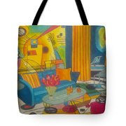 Kandinsky Living Room Tote Bag