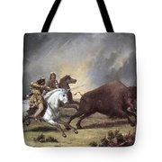 Kane: Buffalo Hunt Tote Bag