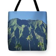 Kaneohe Palm Tote Bag