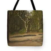 Kanha Forest Trail Tote Bag