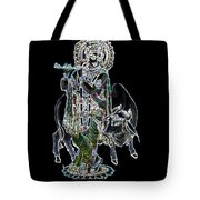 Kanha With Cow Tote Bag