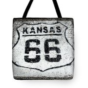 Kansas 66 Tote Bag