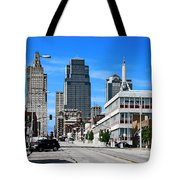 Kansas City Cross Roads Tote Bag