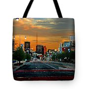 Kansas City Evening Tote Bag