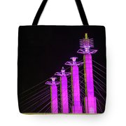 Kansas City Pylons In Pink Tote Bag