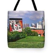 Kansas City Sky Line Tote Bag