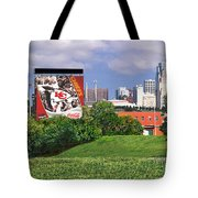 Kansas City Sky Line Tote Bag