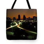 Kansas City Skyline, 1981 Tote Bag