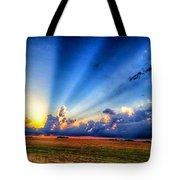 Kansas Country Sunset Tote Bag