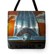 Kansas Plates Tote Bag