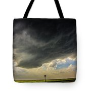 Kansas Storm Chasing 008 Tote Bag