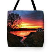 Kansas Sunrise Tote Bag