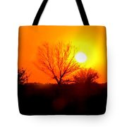 Kansas Sunset Tote Bag