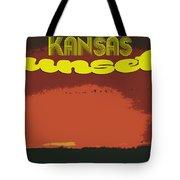 Kansas Travel Image Nine Tote Bag