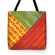Kapa Patterns Triangle 1 Tote Bag