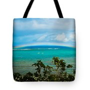 Kapalua Bay Rainbow Tote Bag