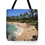Kapalua Beach Resort Tote Bag