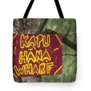 Kapu Hana Wharf Tote Bag