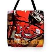 Kareem Hunt, Kansas City Chiefs Tote Bag