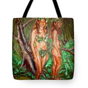 Karen M Times Two At Dragoncon Tote Bag