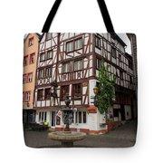 Karlsbaderplatz Bernkastel Kues Germany Tote Bag