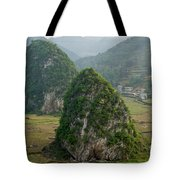 Karst Landscape, Guangxi China Tote Bag