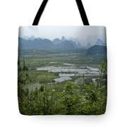 Karst Landscape Of Guangxi Tote Bag