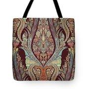 Kashmir Elephants - Vintage Style Patterned Tribal Boho Chic Art Tote Bag