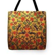 Kashmir's Kashida Tote Bag