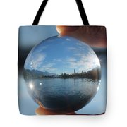 Kaslo Through The Looking Glass Tote Bag