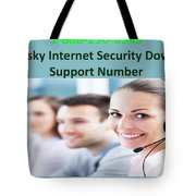 Kaspersky Internet Security Download Support Number Tote Bag