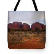 Kata Tjuta Evening Glow Tote Bag