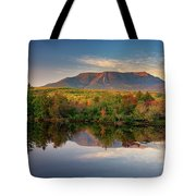 Katahdin At Sunset Tote Bag