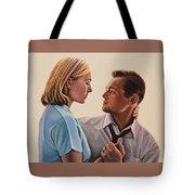 Kate Winslet And Leonardo Dicaprio Tote Bag