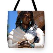 Kateri Tekakwitha Santa Fe Tote Bag