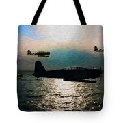 Kates On The Prowl - Oil Tote Bag