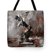 Kathak Dancer A1 Tote Bag