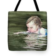 Katie Wants A River Rock Tote Bag