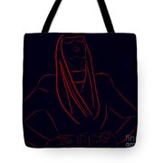 Katy Perry Silhouette Tote Bag